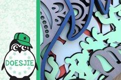 Dolphin SVG layered multi layer mandala sea animal nautical Product Image 6