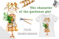 Garden tools Watercolor clip art Product Image 4