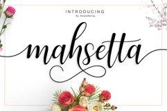 Web Font Mahsetta Script Product Image 1