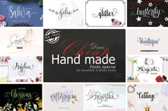 20 Incredible Handwritten Fonts Product Image 1