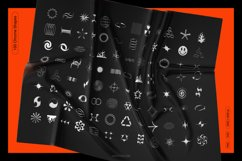 Chrome & vector abstract shapes bundle Product Image 3