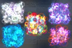 Bright colorful magic splashes. Product Image 2