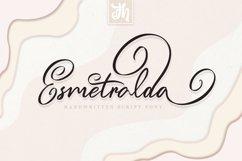 Esmetralda - Handwritten Font Product Image 1