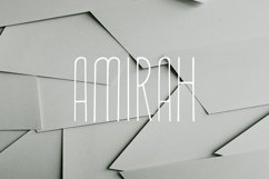 Amirah Display Font Product Image 1