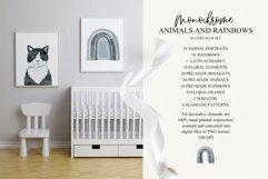 Monochrome Animals and Rainbows Product Image 3