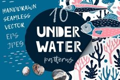 UNDERWATER | Seamless patterns pack Product Image 1