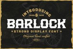Barlock - Strong Display Font Product Image 1