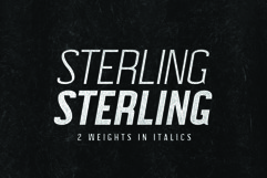 STERLING, A Powerful Sans Serif Product Image 4