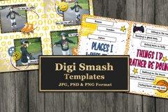 Digi Smash Digital Scrapbooking Templates Product Image 2