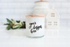 Candle Mockup, White Candle Mockup, Blank Candle Mockup Product Image 2