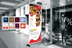 Restaurant Roll Up Banner Vol-03 Product Image 3