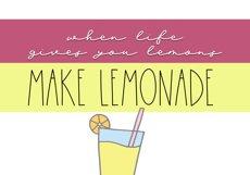 Lemonade - Handwritten Script Font Product Image 2