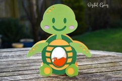 Turtle Easter egg holder design SVG / DXF / EPS Product Image 3