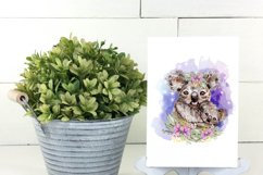 Floral Koala Baby and Mother Australian Animals Sublimation Product Image 2