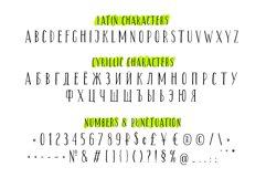 Third Floor Latin & Cyrillic handwritten grungy font Product Image 3