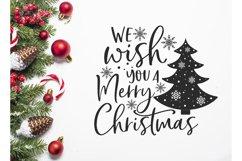 We wish you a Merry Christmas Svg, Christmas Svg, Christmas Product Image 5
