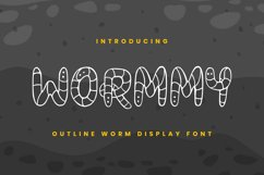 Wormmy Font Product Image 1
