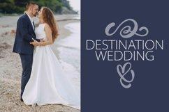 Wedding Ornaments - A Fun Flourish Font Product Image 4