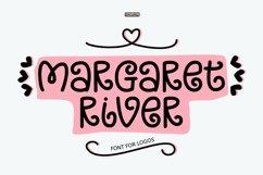 Margaret River - Font For Logos. Product Image 1