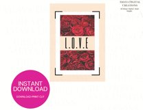 Love PDF Card E card,Card Instant Down Product Image 4