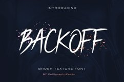 BACKOFF Product Image 1