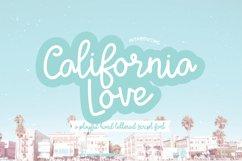 CALIFORNIA LOVE a Playful Script Font Product Image 1