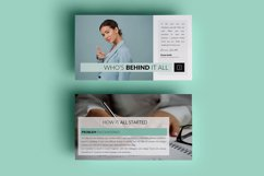PPT Template | Company Presentation - Green and Marble Product Image 2
