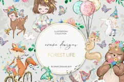 Forest Life Clip Art Product Image 1