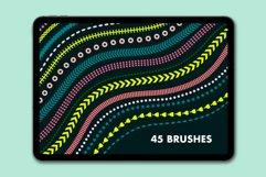 Lines & Dashes Procreate brush set Product Image 3