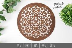 Mandala SVG, DXF, EPS, PNG JPEG Product Image 1