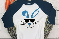 easter svg, bunny svg, easter bunny svg, bunny sunglasses Product Image 2