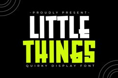 Little Things Product Image 1