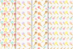 Watercolor icecream Product Image 6