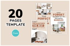 Vintage x Fall Pinterest Canva Template Product Image 5