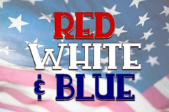 Sweet Liberty - An All-Caps Patriotic Font Duo Product Image 3