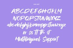 MVRX Maverix SVG Brush Font Product Image 6