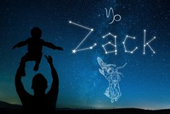Written in Stars, Constellation Zodiac Font! Product Image 5