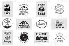 Camping SVG Bundle. Product Image 3