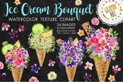 Ice cream Bouquet Clip Art Product Image 1