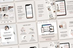 Engagement Instagram Post Templates, Podcast, Course Creator Product Image 5