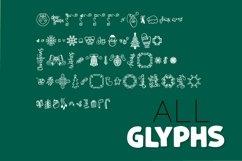 Christmas Dingbats - A Christmas Doodle Font! Product Image 4