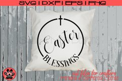 Easter Blessings | Christian SVG Cut File Product Image 1