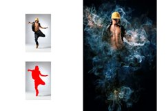 Color Smoke Photoshop Action Product Image 4