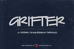 Grifter Architect Blueprint Handwriting Font Product Image 1