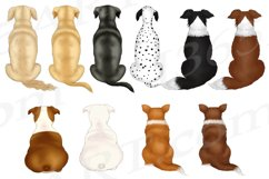 Best Friends Dog Lover Clipart Dog Mom Customizable Set PNG Product Image 5