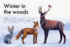 Realistic animals in the forest Product Image 1
