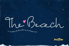 The Beach Font Product Image 1