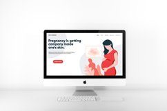 pregnancy / maternity landing page Product Image 2