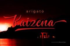Kaizena - Modern Script Font Product Image 6