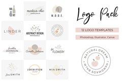 Logo Pack V.1 | 12 premade logo templates Product Image 1